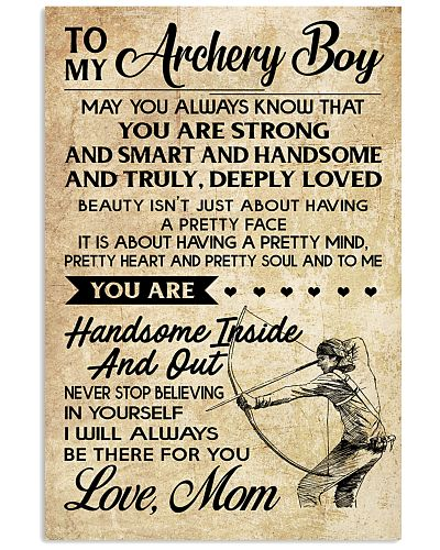 TO MY Archery Boy - MOM