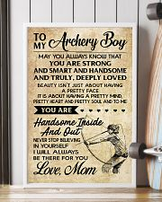 TO MY Archery Boy - MOM 16x24 Poster lifestyle-poster-4