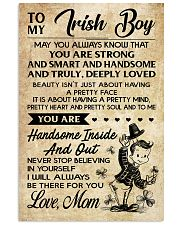 TO MY Irish Boy Mom 16x24 Poster front