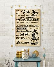 TO MY Irish Boy Mom 16x24 Poster lifestyle-holiday-poster-3