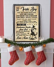 TO MY Irish Boy Mom 16x24 Poster lifestyle-holiday-poster-4