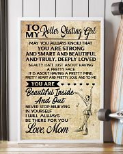 TO MY ROLLER SKATING GIRL - LOVE MOM 16x24 Poster lifestyle-poster-4