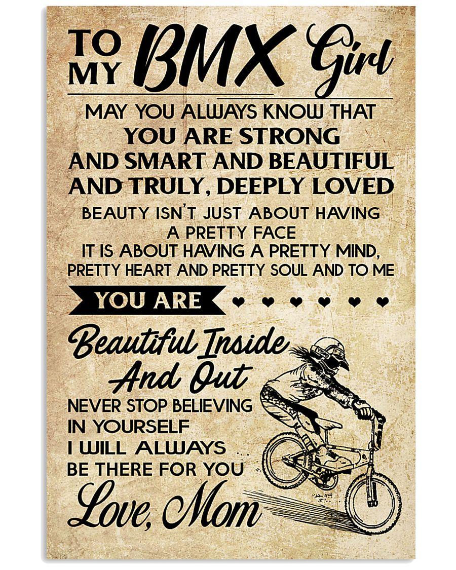TO MY  BMX Girl 16x24 Poster