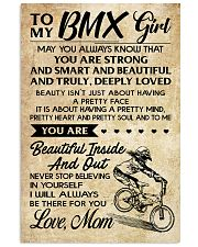 TO MY  BMX Girl 16x24 Poster front