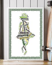 irish dance typo poster 11x17 Poster lifestyle-poster-4