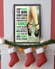 7- I DON'T DANCE TO WIN COMPETITION - IRISH DANCE  11x17 Poster lifestyle-holiday-poster-4