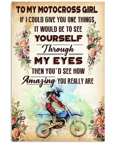 TO MY MOTOCROSS GIRL - YOU REALLY ARE