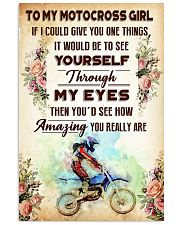TO MY MOTOCROSS GIRL - YOU REALLY ARE 11x17 Poster front