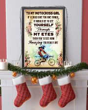 TO MY MOTOCROSS GIRL - YOU REALLY ARE 11x17 Poster lifestyle-holiday-poster-4