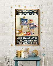 Teacher - Once Upon A Time There Was A Girl Poster 11x17 Poster lifestyle-holiday-poster-3