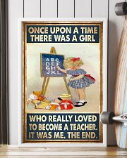 Teacher - Once Upon A Time There Was A Girl Poster 11x17 Poster lifestyle-poster-4