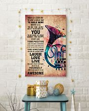 HORN - TODAY IS A GOOD DAY POSTER 11x17 Poster lifestyle-holiday-poster-3
