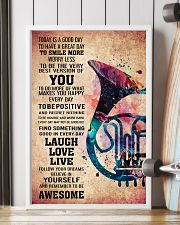 HORN - TODAY IS A GOOD DAY POSTER 11x17 Poster lifestyle-poster-4