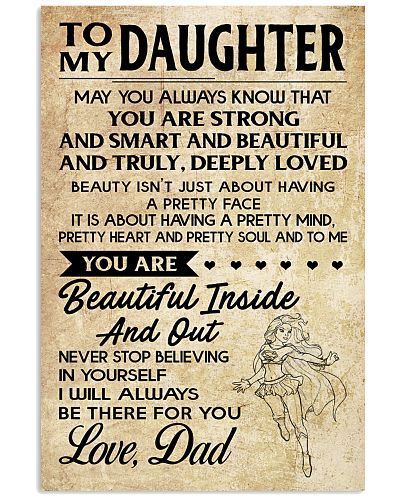 TO MY DAUGHTER- DAD