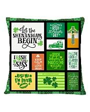 IRISH DECOR PILLOWCASE Square Pillowcase back