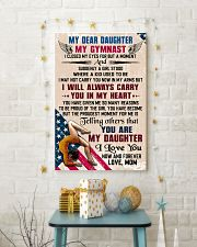 MY DEAR DAUGHTER - Gymnast 16x24 Poster lifestyle-holiday-poster-3