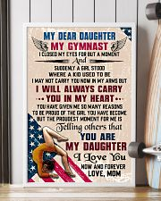 MY DEAR DAUGHTER - Gymnast 16x24 Poster lifestyle-poster-4