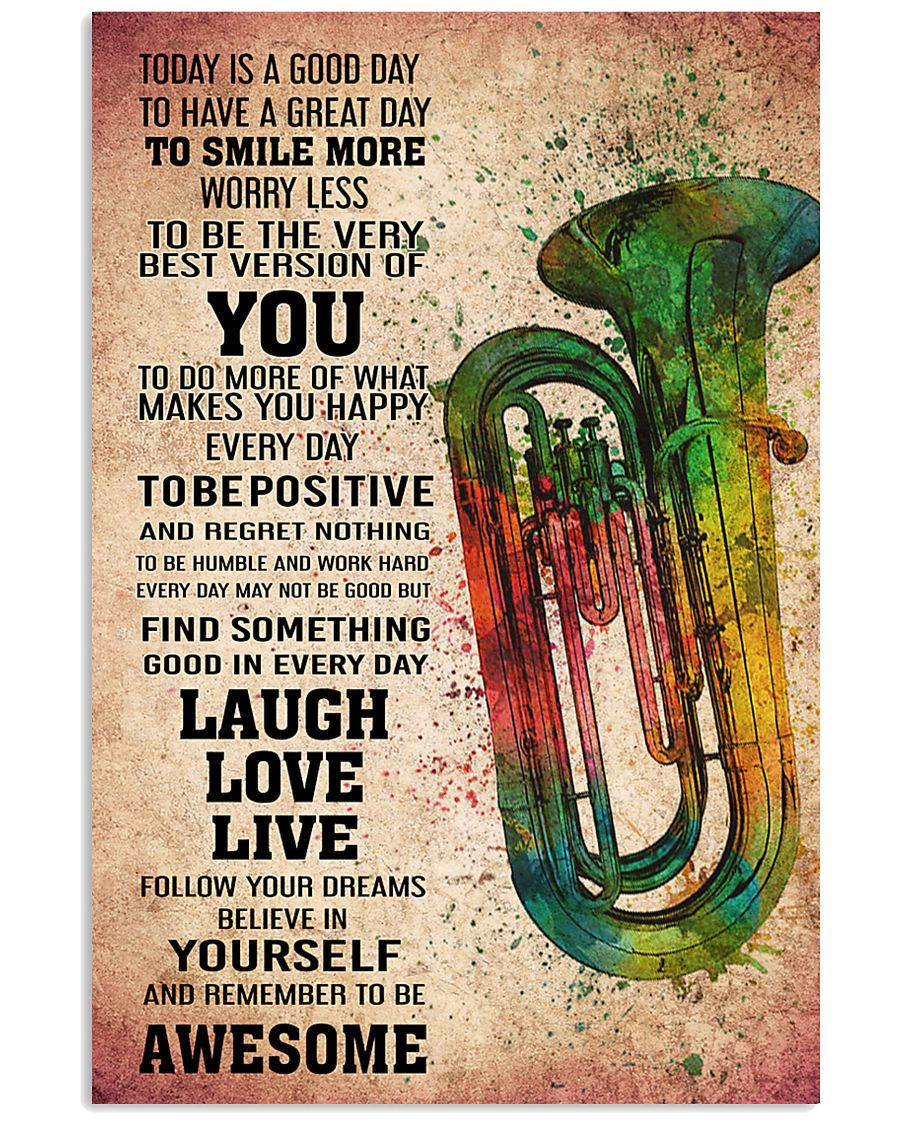 TUBA - TODAY IS A GOOD DAY POSTER KD 11x17 Poster