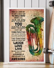 TUBA - TODAY IS A GOOD DAY POSTER KD 11x17 Poster lifestyle-poster-4