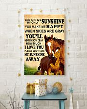 12 you are my sunshine hourse 16x24 Poster lifestyle-holiday-poster-3