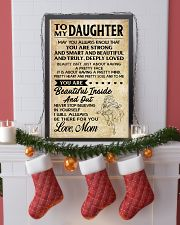 TO MY DAUGHTER- MOM 16x24 Poster lifestyle-holiday-poster-4