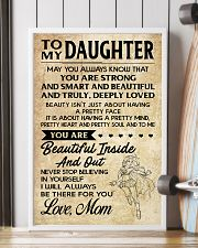 TO MY DAUGHTER- MOM 16x24 Poster lifestyle-poster-4