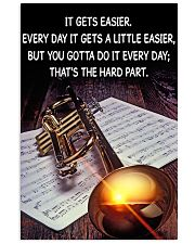 Trumpet It Gets Easier Poster 11x17 Poster front