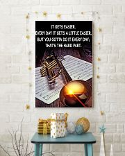 Trumpet It Gets Easier Poster 11x17 Poster lifestyle-holiday-poster-3