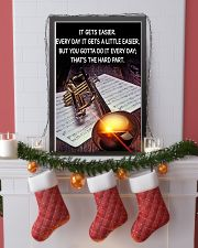 Trumpet It Gets Easier Poster 11x17 Poster lifestyle-holiday-poster-4