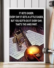 Trumpet It Gets Easier Poster 11x17 Poster lifestyle-poster-4
