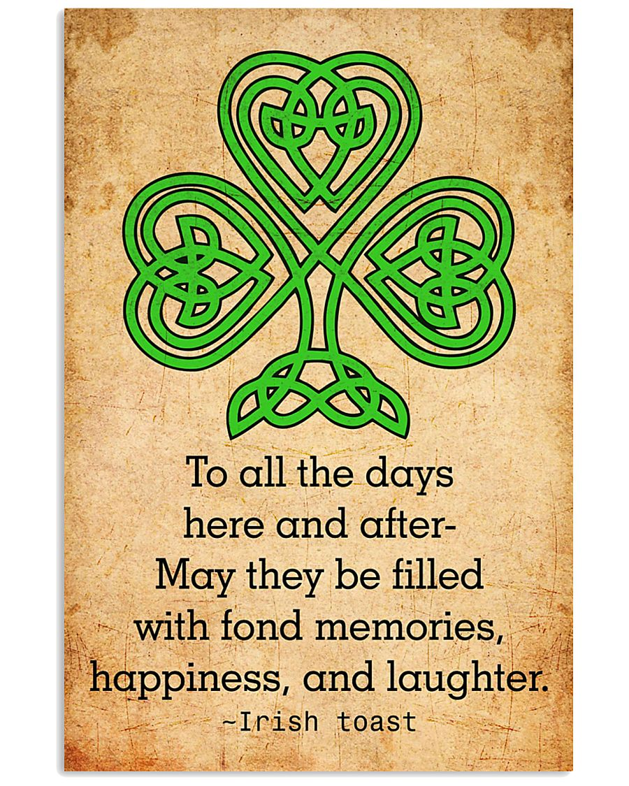 Irish Toast - Poster 11x17 Poster