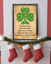 Irish Toast - Poster 11x17 Poster lifestyle-holiday-poster-4