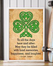 Irish Toast - Poster 11x17 Poster lifestyle-poster-4
