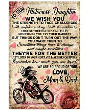 9 For The Better - Motocross - Mum Dad 16x24 Poster front