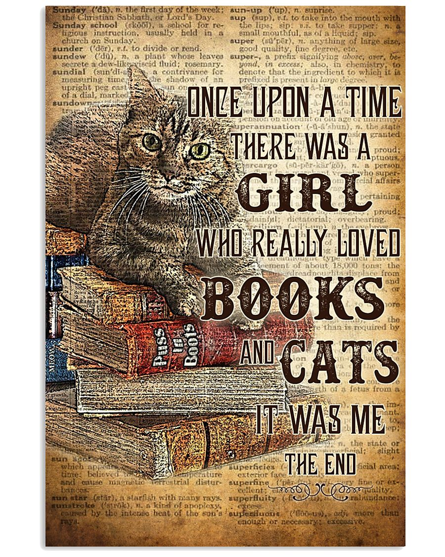 BOOKS AND DOGS- ONCE UPON A TIME POSTER LQT 16x24 Poster