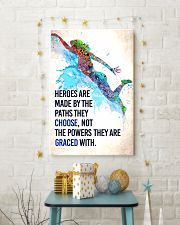 Swimming - Heroes are made Poster SKY 11x17 Poster lifestyle-holiday-poster-3