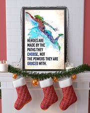 Swimming - Heroes are made Poster SKY 11x17 Poster lifestyle-holiday-poster-4