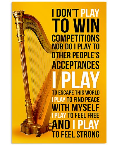 HARP - I DON'T PLAY TO WIN COMPETITIONS