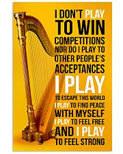 HARP - I DON'T PLAY TO WIN COMPETITIONS 11x17 Poster front