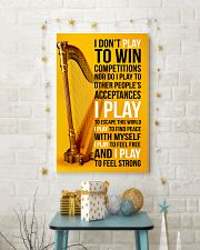 HARP - I DON'T PLAY TO WIN COMPETITIONS 11x17 Poster lifestyle-holiday-poster-3