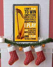 HARP - I DON'T PLAY TO WIN COMPETITIONS 11x17 Poster lifestyle-holiday-poster-4