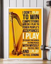 HARP - I DON'T PLAY TO WIN COMPETITIONS 11x17 Poster lifestyle-poster-4
