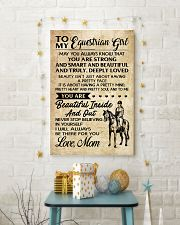 TO MY equestrian GIRL- MOM 16x24 Poster lifestyle-holiday-poster-3
