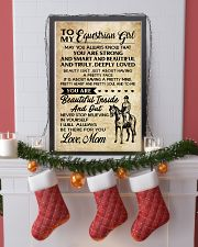TO MY equestrian GIRL- MOM 16x24 Poster lifestyle-holiday-poster-4
