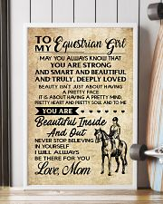 TO MY equestrian GIRL- MOM 16x24 Poster lifestyle-poster-4