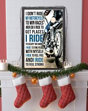 I DON'T RIDE MY MOTORCYCLE TO WIN RACES 11x17 Poster lifestyle-holiday-poster-4