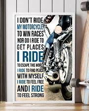 I DON'T RIDE MY MOTORCYCLE TO WIN RACES 11x17 Poster lifestyle-poster-4