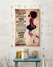 IRISH DANCE - TODAY IS A GOOD DAY POSTER 11x17 Poster lifestyle-holiday-poster-3