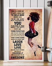 IRISH DANCE - TODAY IS A GOOD DAY POSTER 11x17 Poster lifestyle-poster-4
