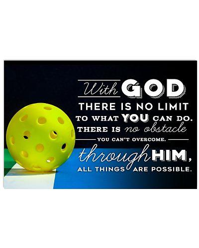 PICKLEBALL - WITH GOD